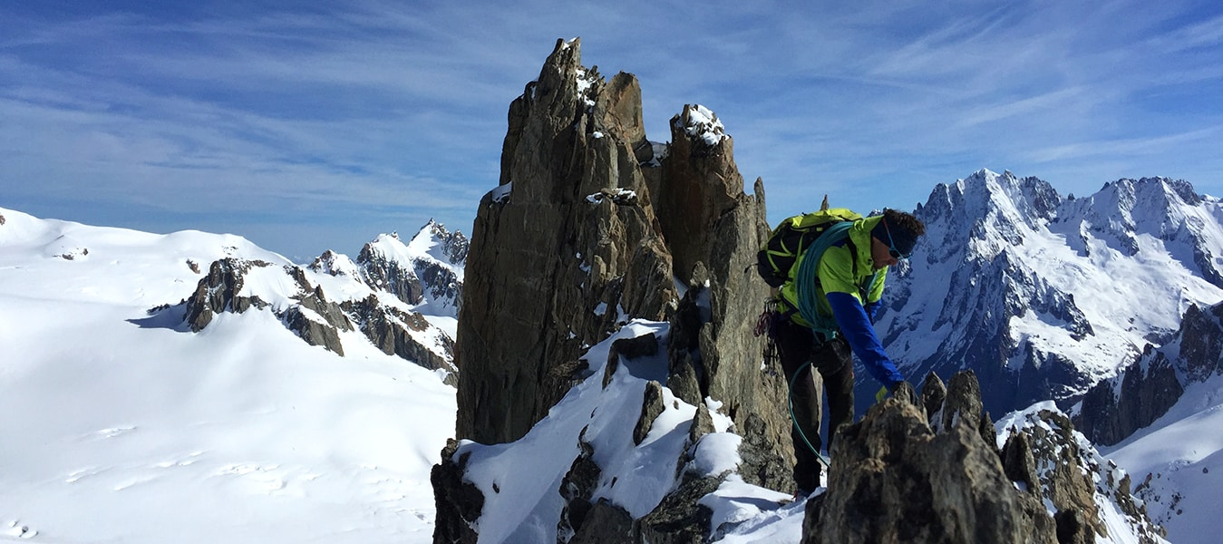 4-day Mont Blanc mountaineering course