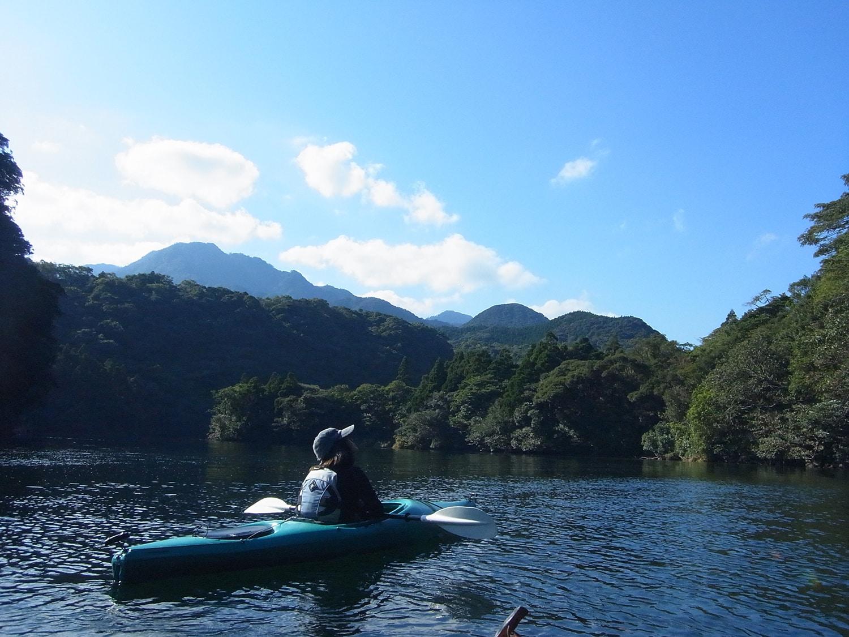 Kayaking Anbo River in Yakushima