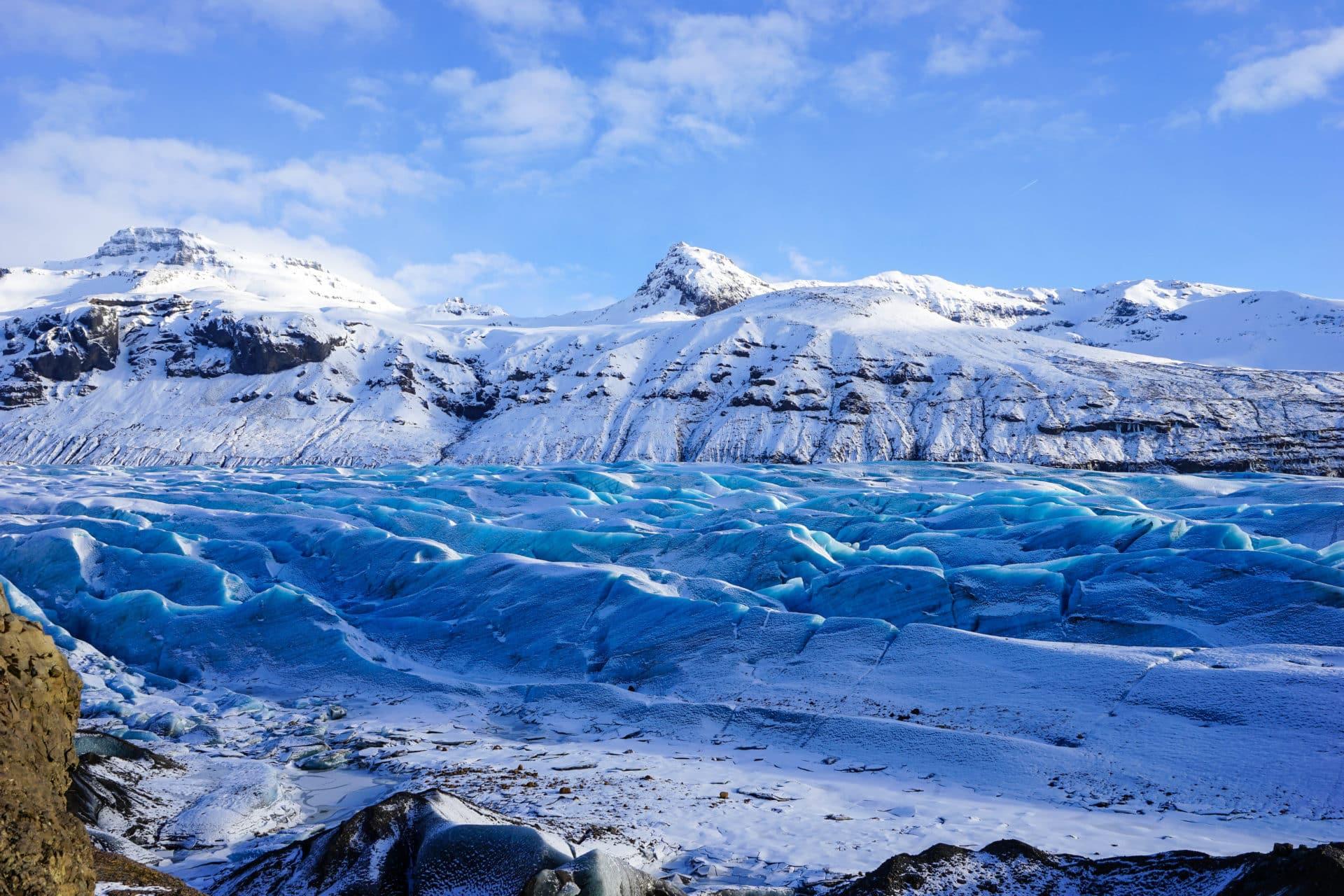 Guided Group hike across Hrútsfjallstindar peaks
