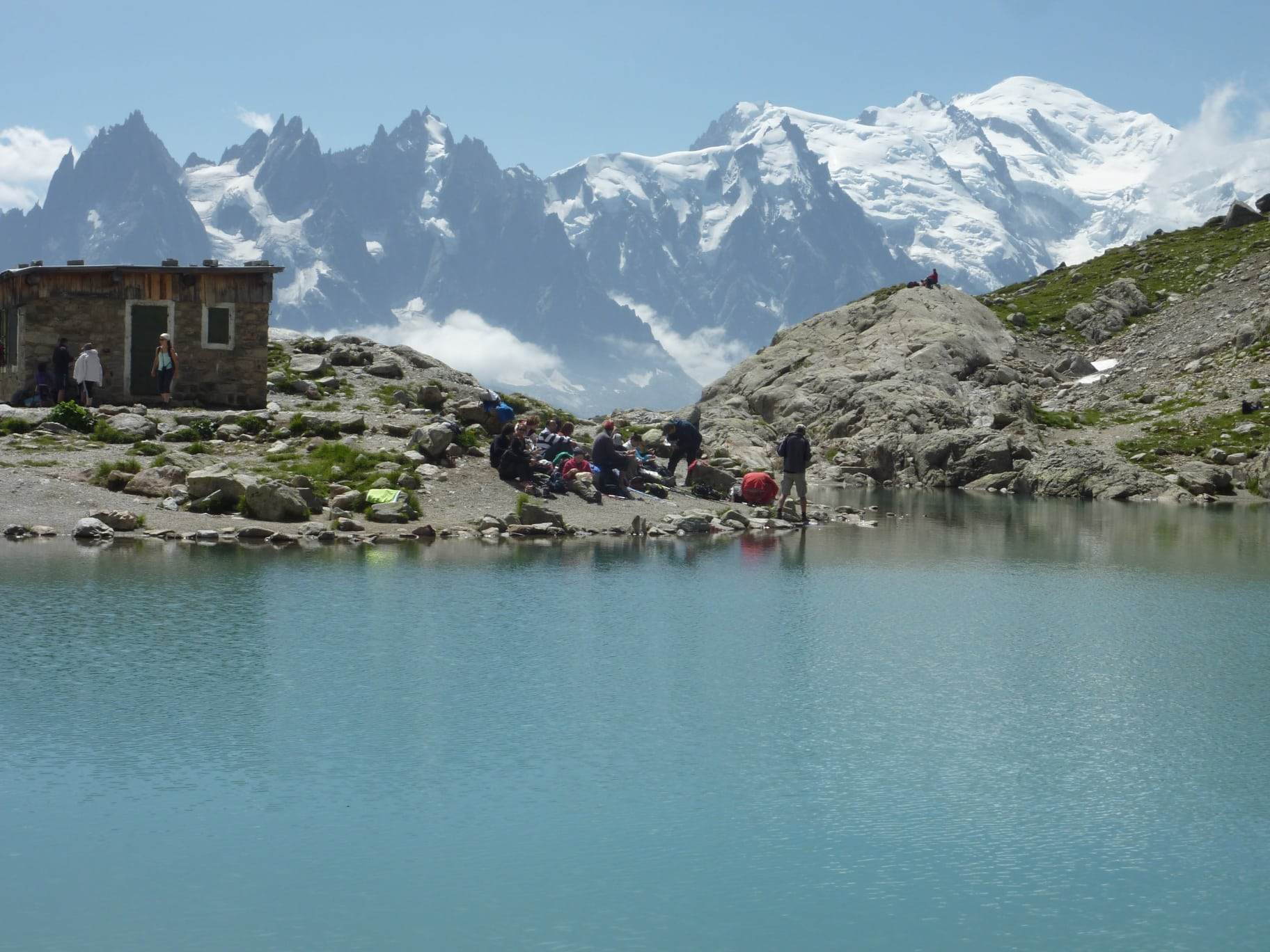 "TMB"" 8-day guided trek in the Alps  8-day trip  Certified leader"