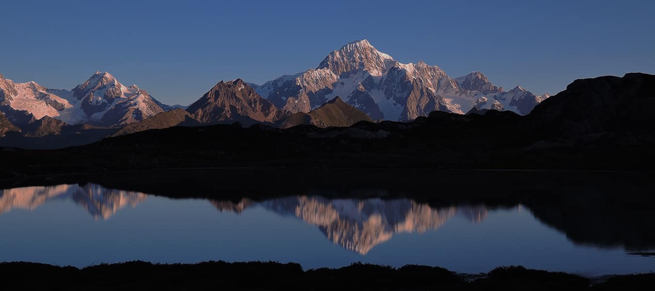 """""""TMB"""" 8-day guided trek in the Alps"""