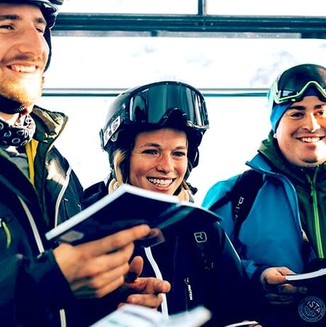 Ski touring security course ISTA
