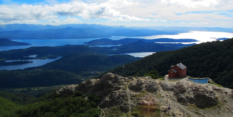 Trekking entre refugios en Bariloche
