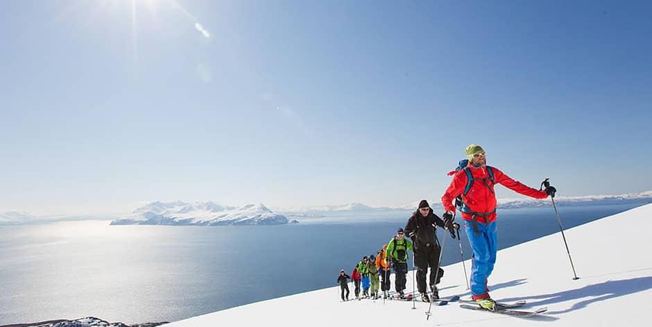 Lyngen Alps with Jimmy