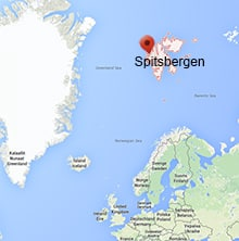Spitsbergen Map