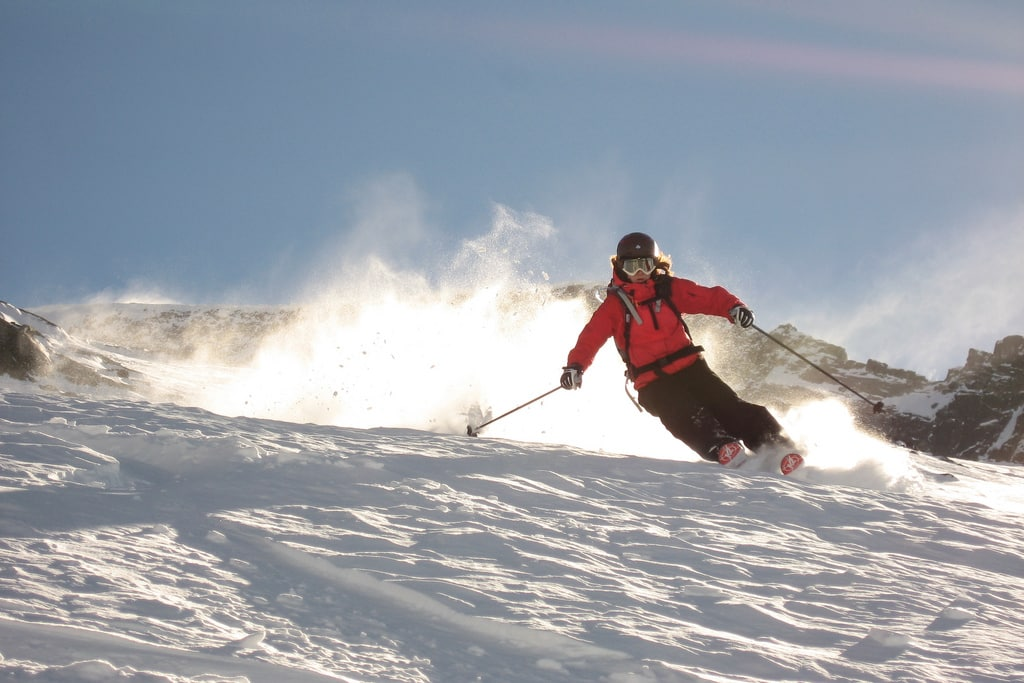 Les Grands Montets guided off piste skiing