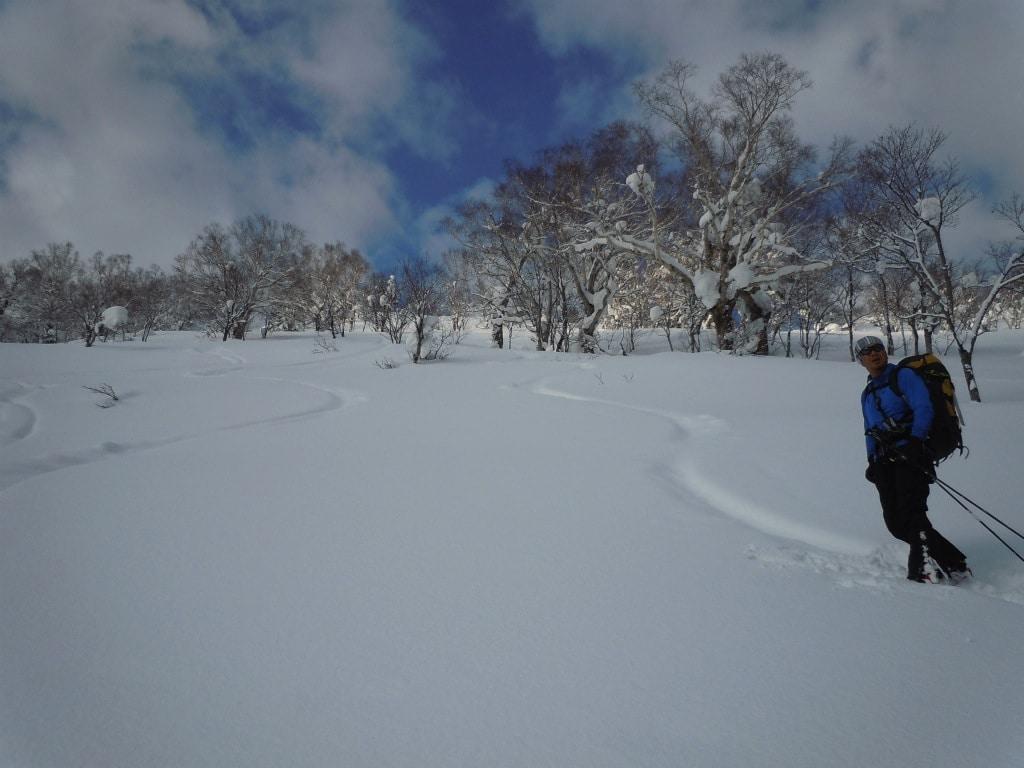 Ski Touring in Harukayama, Hokkaido