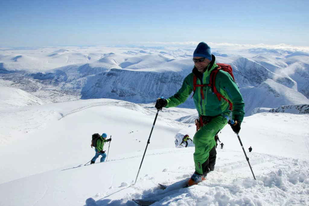 Ski touring in Kebnekaise with Fred