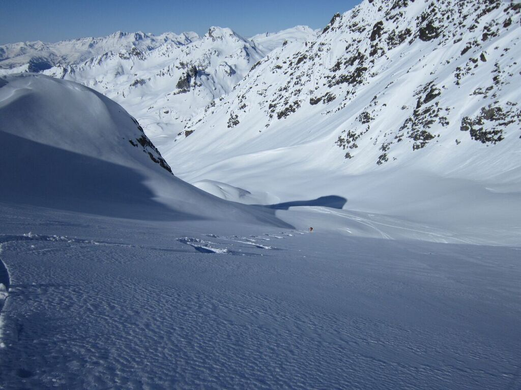 Freeride skiing guide in Val d'Isère and Tignes
