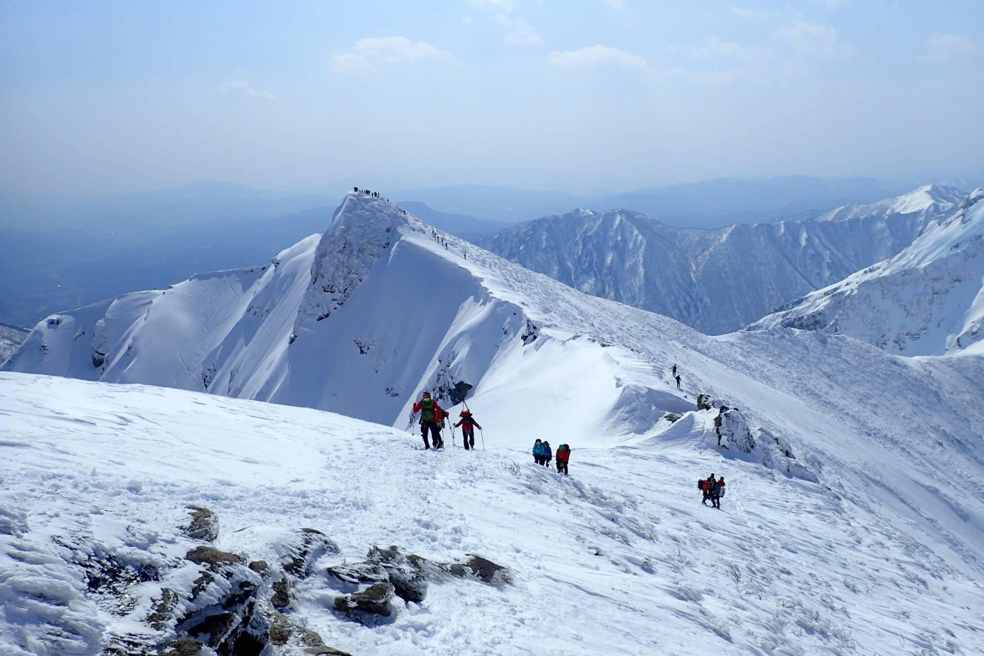 Freeride skiing in Niigata / Gunma with a local IFMGA guide