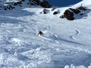 Saalbach Fieberbrunn freeride skiing guide