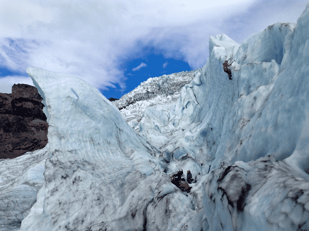 Ice climbing in the Icelandic West Fjords
