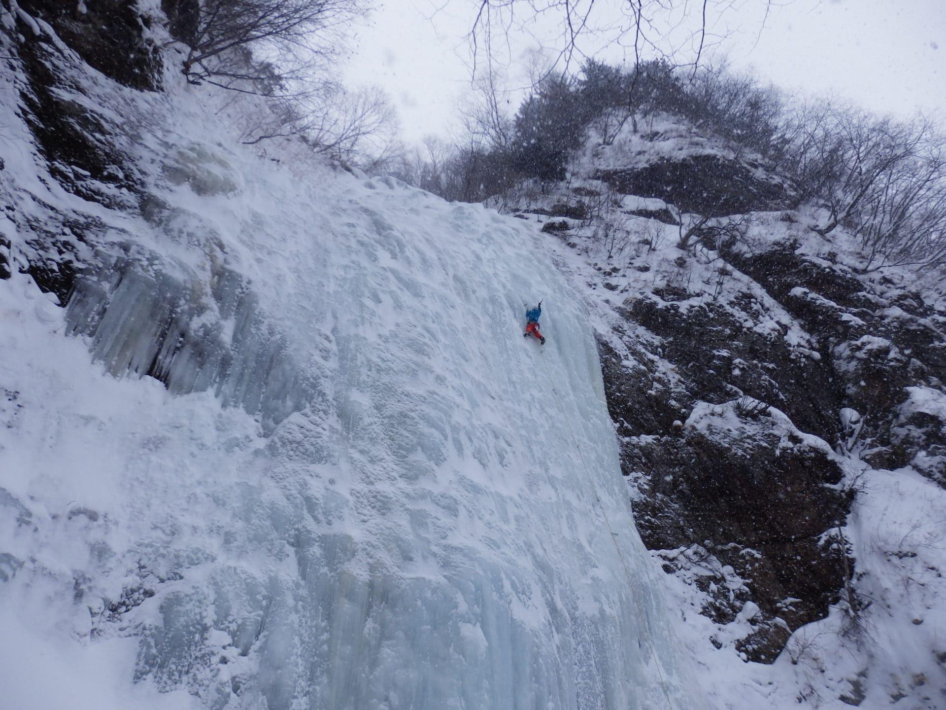 Intro to Ice Climbing in Sounkyo, Hokkaido