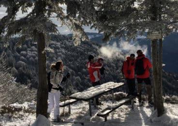Les Vosges Snowshoeing