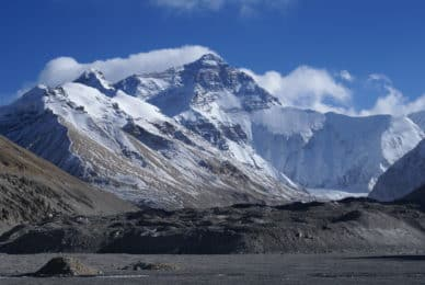 Mount Everest north route guided expedition