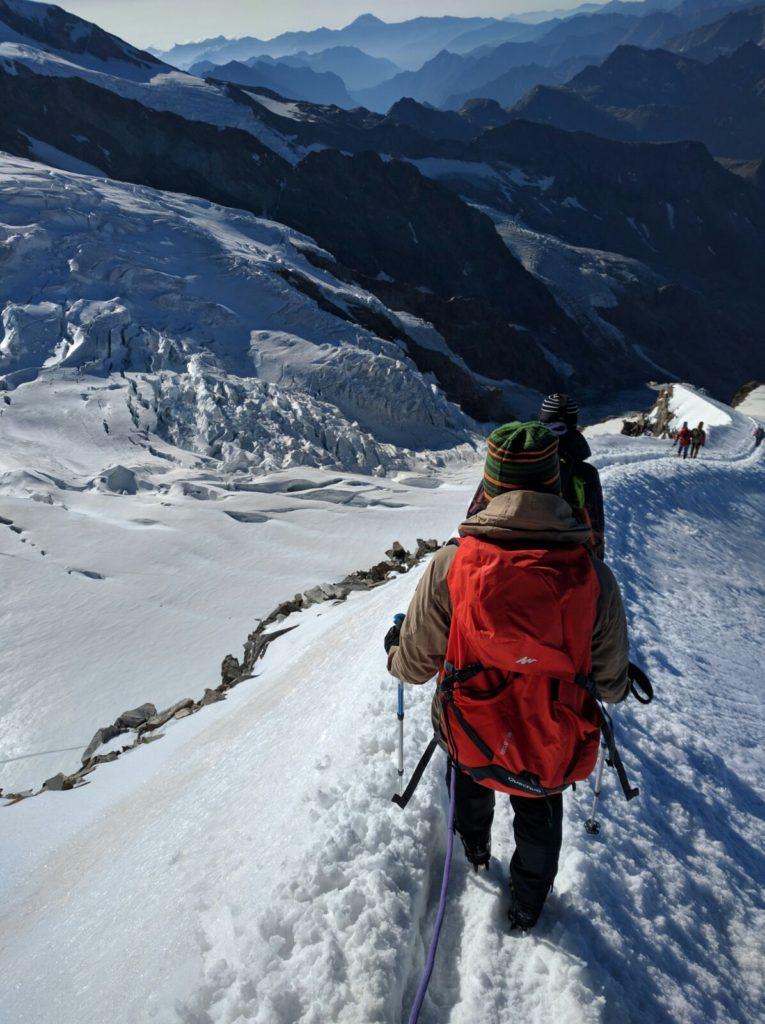 Mount Rosa range, Alps