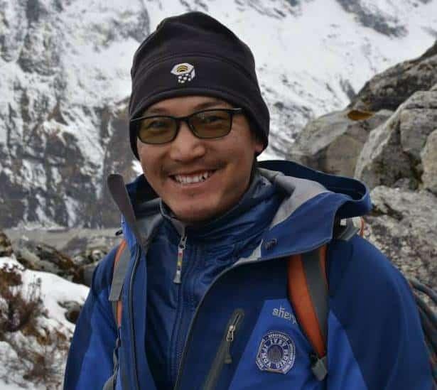 Phurba Namgyal Sherpa ifmga mountain guide nepal