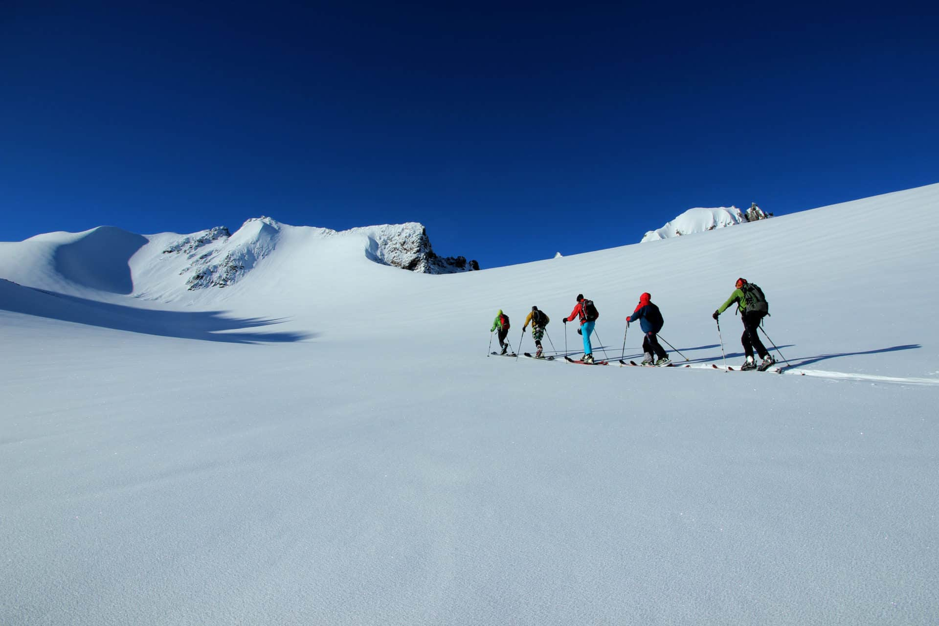 Ala Archa Glacier ski touring 6-day trip