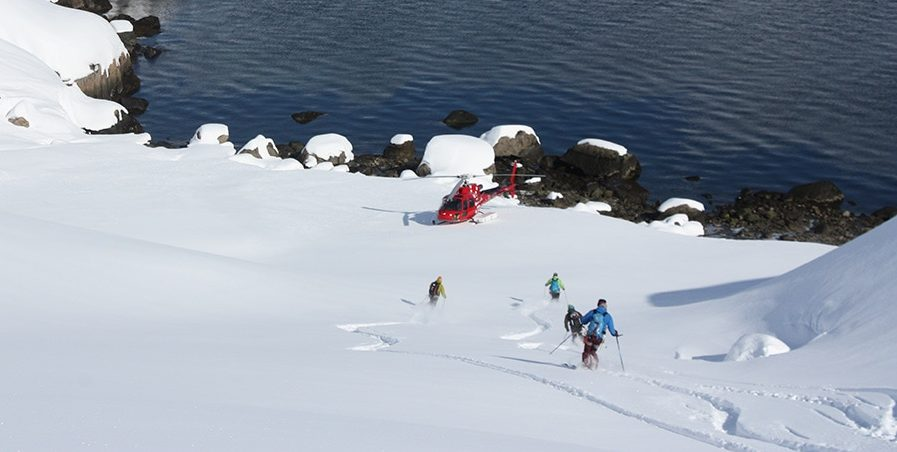 Heliskiing guided trip in Greenland, 8 days