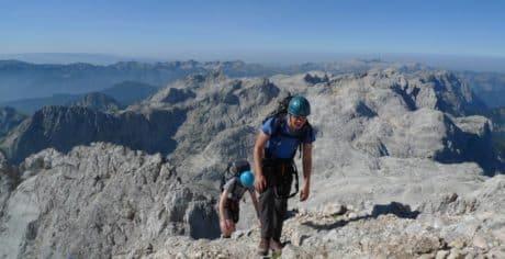 Triglav guided ascent