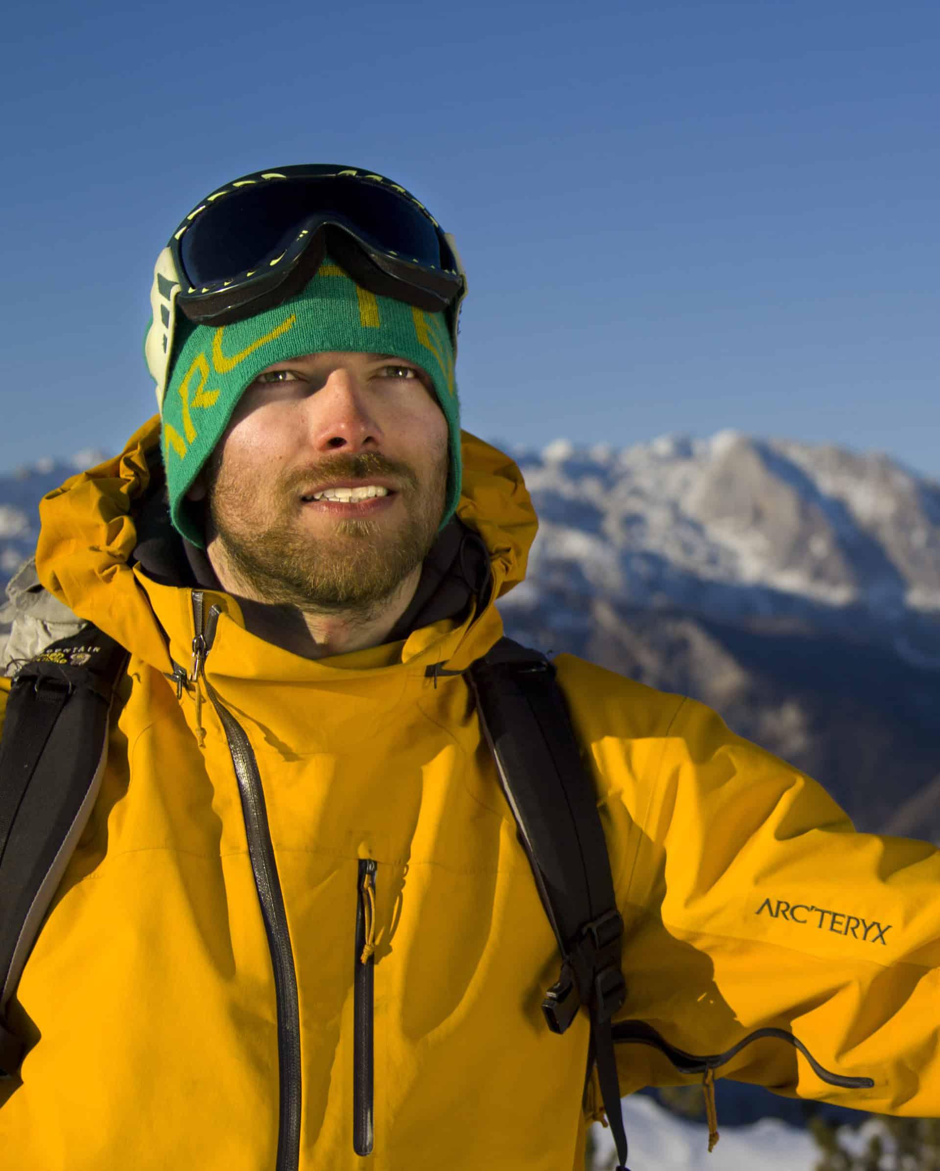 Rok Zamokar IFMGA Mountain guide Slovenia