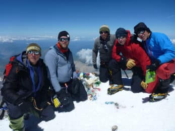 Elbrus guided ascent