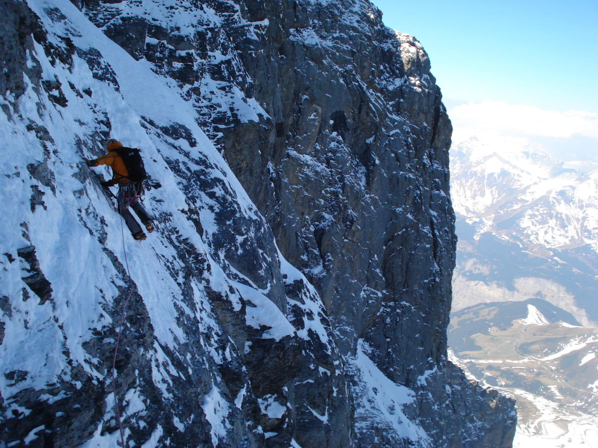 Eiger north face 2 day guided climb 2 day trip certified leader eiger north face 2 day guided climb reheart Choice Image
