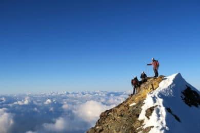 Climbing Matterhorn