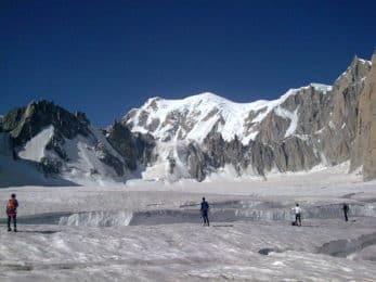 Glacier du Géant guided traverse