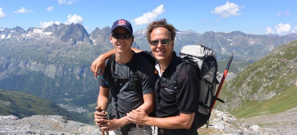 Father and Son Aiguille du Tour