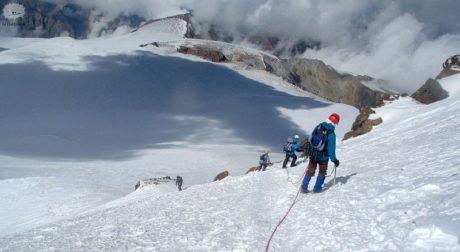 Mt Kazbek climbing trip