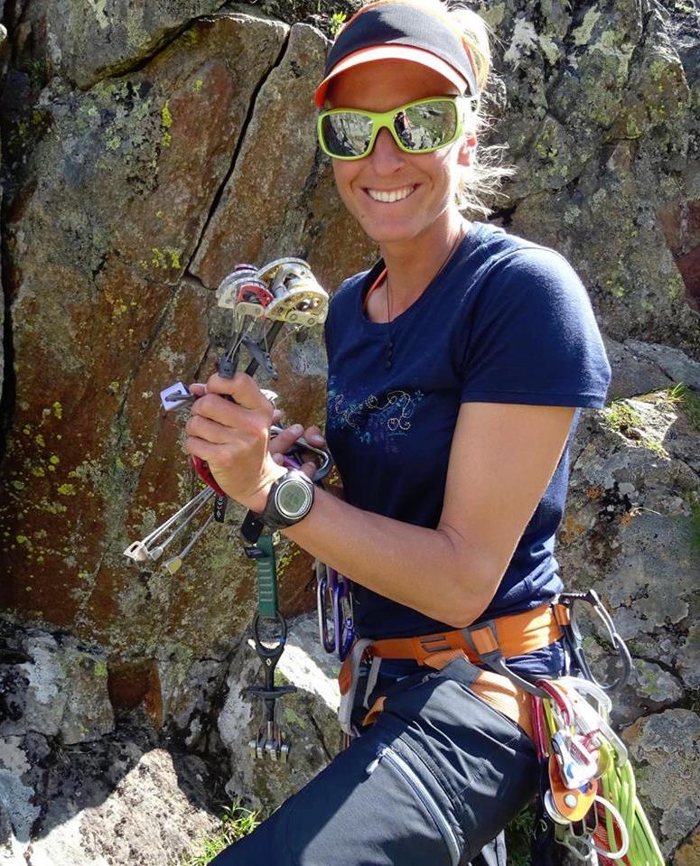 Maria Kirchner IFMGA Guide Austria