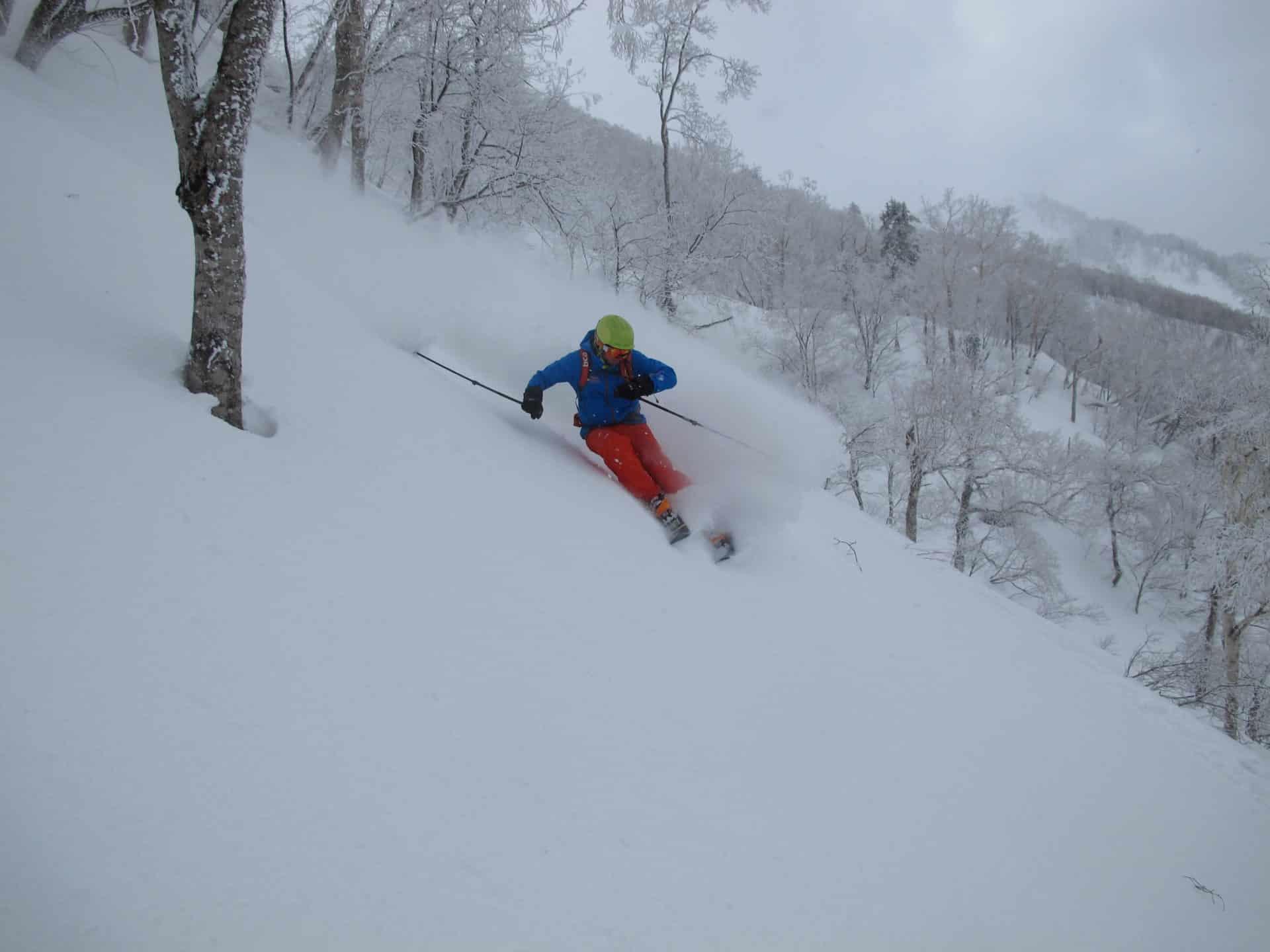 Freeride and ski touring in Hokkaido