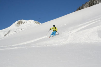 Kitzbüheler Alps guided freeride skiing