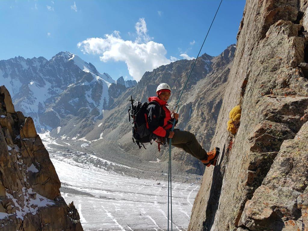 A great rock climbing spot!