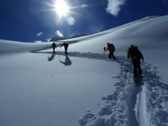 Ski touring in Austria ans Switzerland