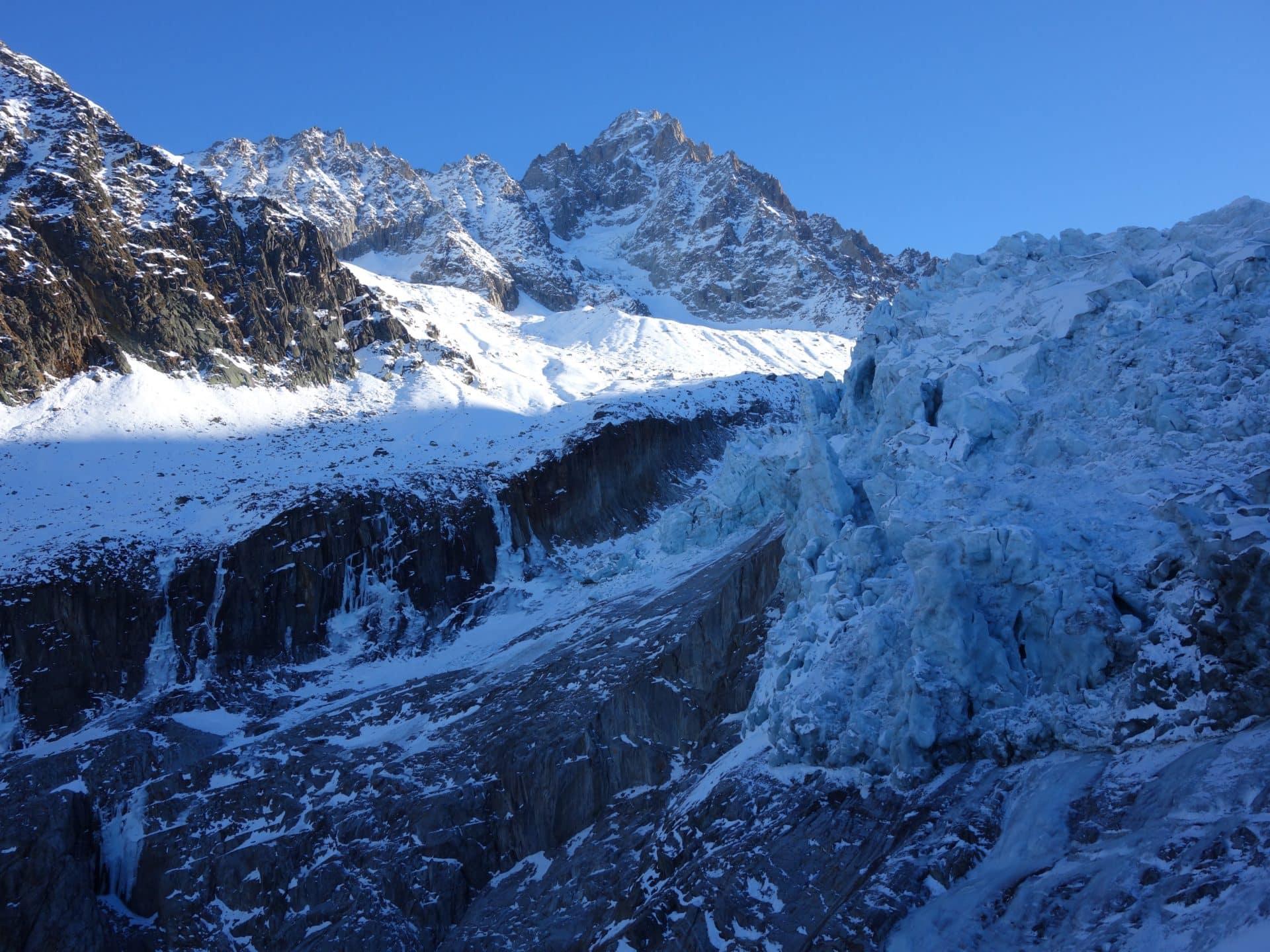 Chamonix guided ice climbing weekend