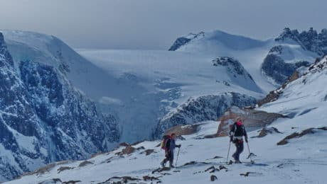 Greenland: ski touring and a boat