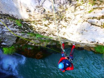 Canyoning day in Spain