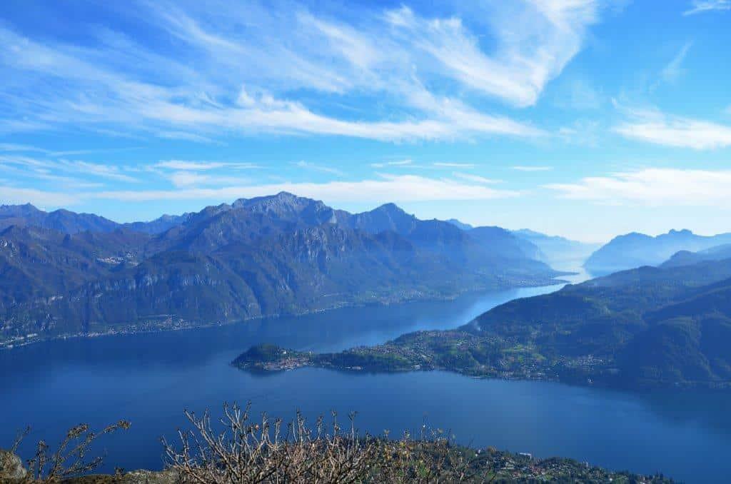 Hiking tour around Lake Como and Switzerland