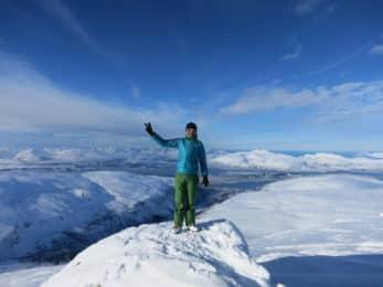 Lyngen Alps guided ski tour