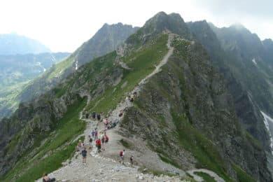 Polish High Tatras summer hiking
