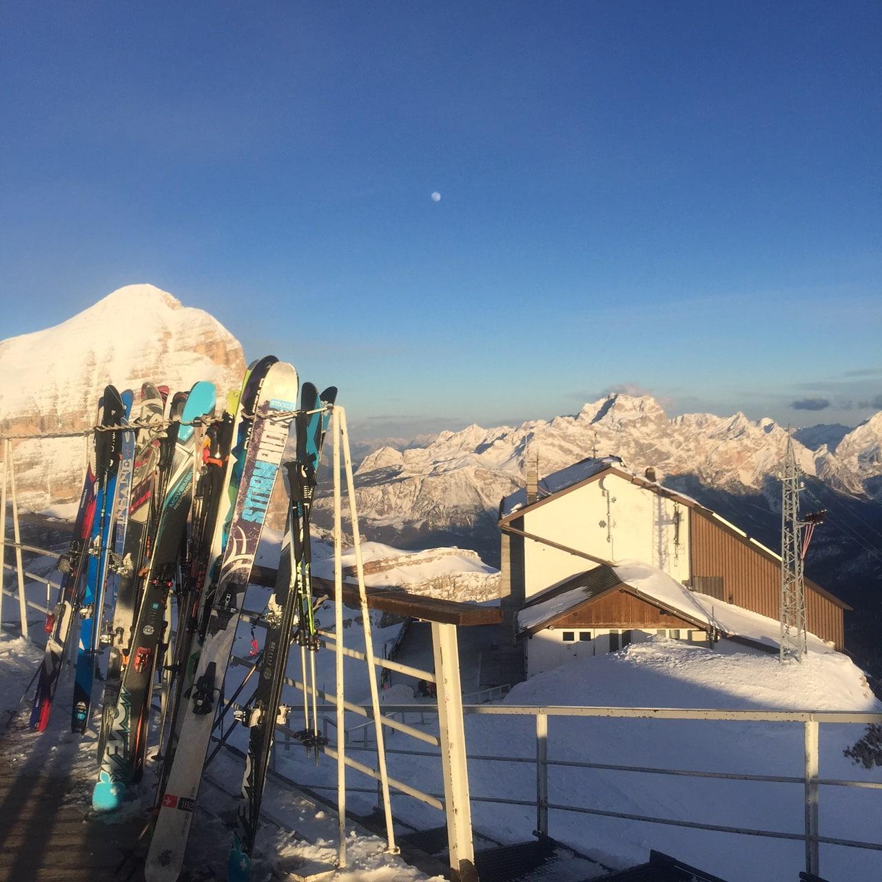6-day guided ski safari in the Dolomites