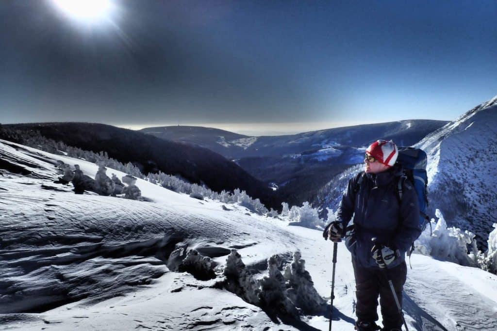 Ski touring in Czech Republic