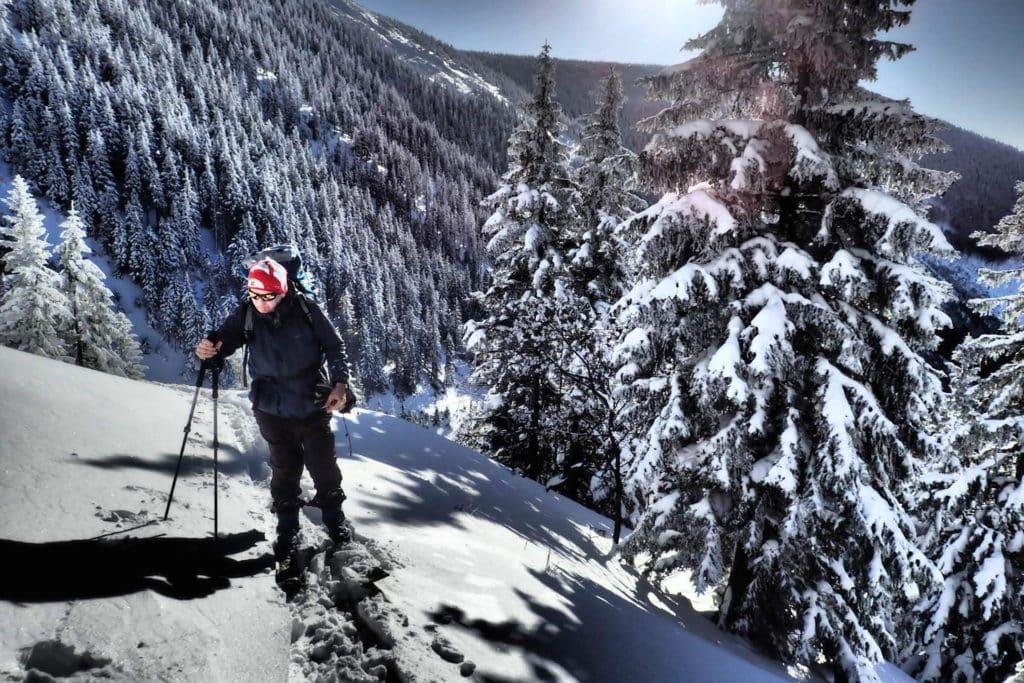 Powder snow in the Giant Mountains