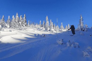 Giants mountains ski touring