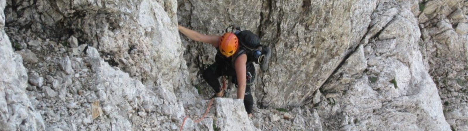 Mt Triglav North Face guided climb