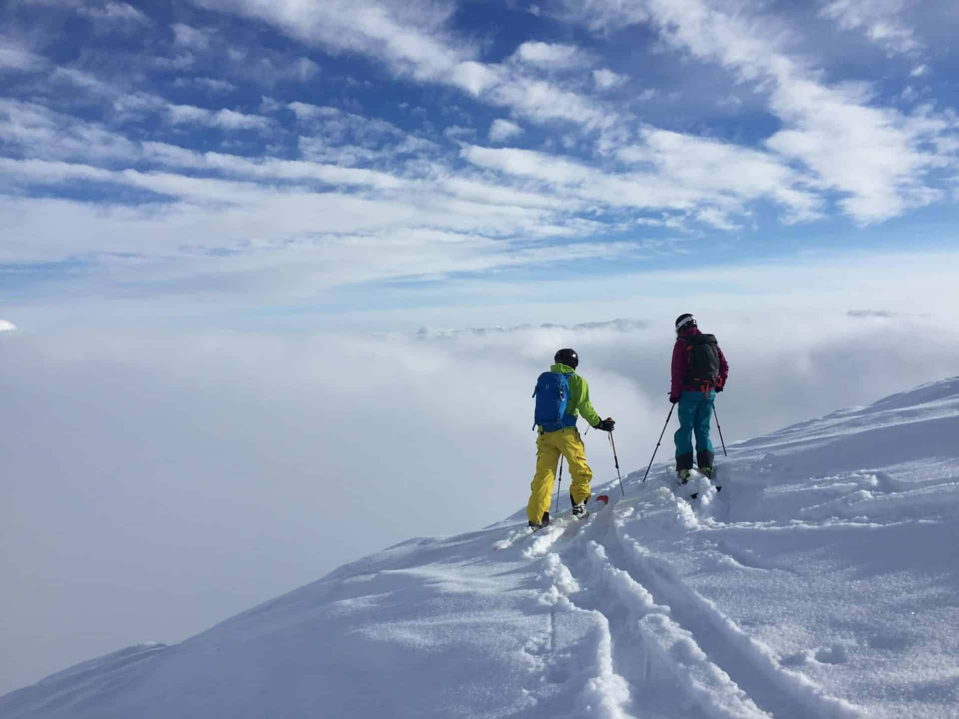 Gudauri freeride and ski touring with a guide