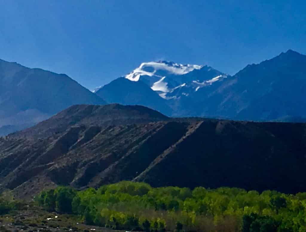 Cerro Mercedario from the East