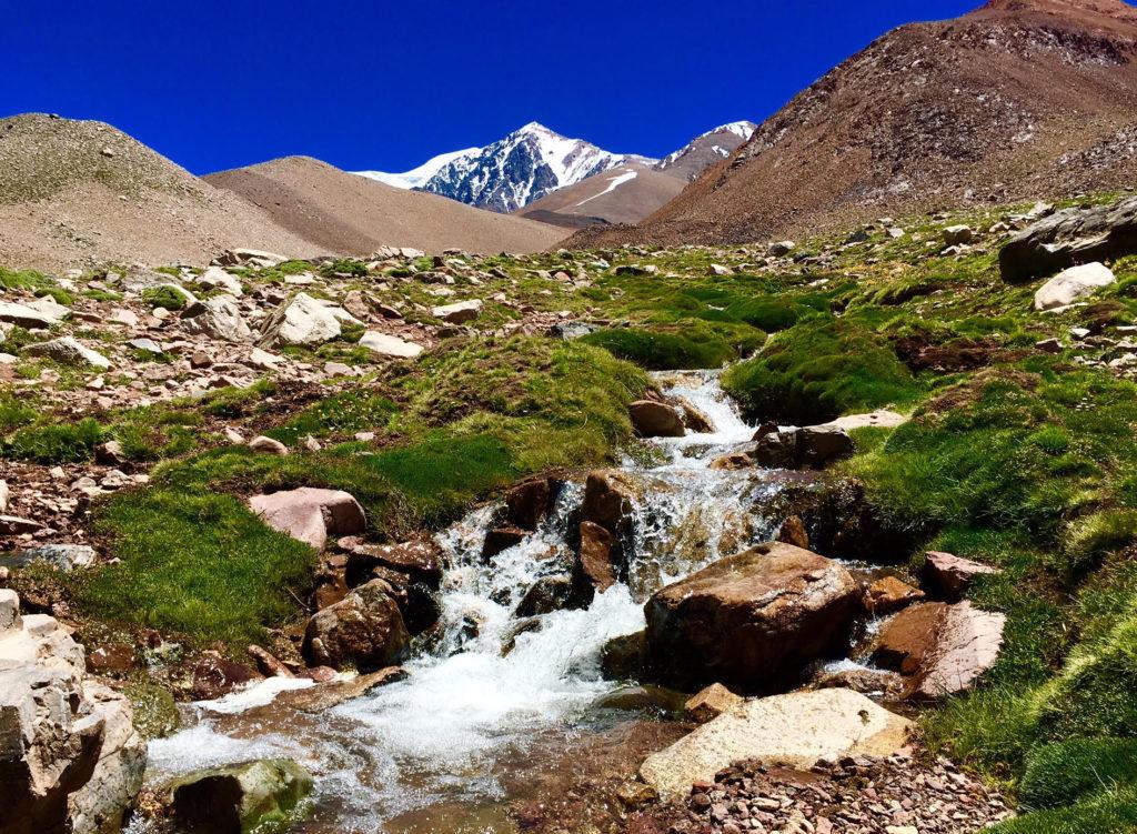 pre-summit of Cerro Mercedario